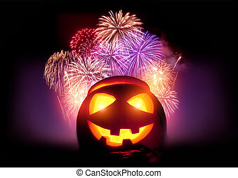 Halloween Fireworks Party