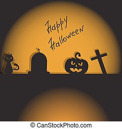 halloween, fond, eps, vecteur, 10