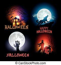 halloween, fondos