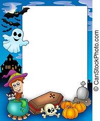 Halloween frame 1