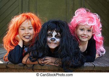 halloween, friends