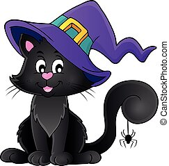 halloween, gatto