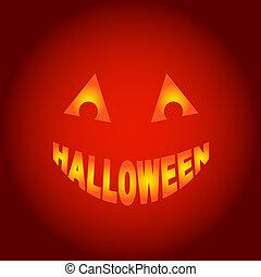 halloween, genfærd, vektor