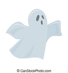 Halloween ghost illustration