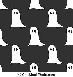Halloween ghosts pattern