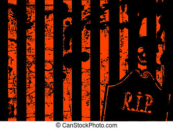 Halloween grange background