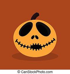 halloween happy pumpkin