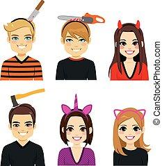 Halloween Headbands People