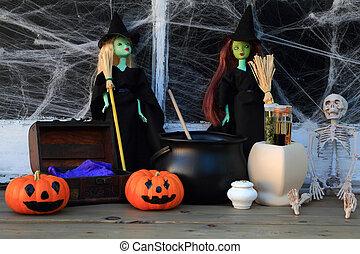 halloween, hexen