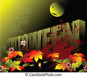 Halloween - Holiday celebrated on the night of October 31