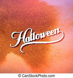 Halloween. Holiday Vector Illustration