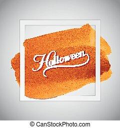Halloween. Holiday Vector Illustration