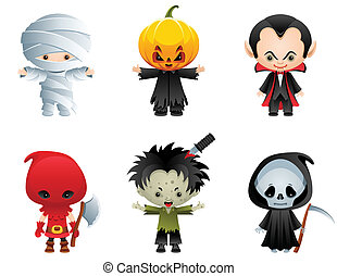 halloween, iconerne