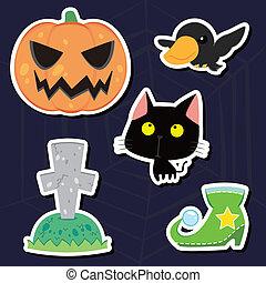 halloween, ikone