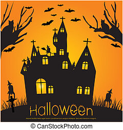 halloween, invitation