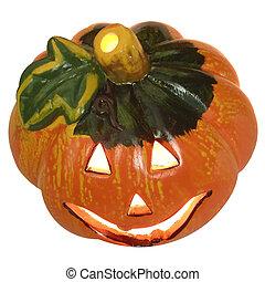 Halloween jack o\'lantern pumpkin