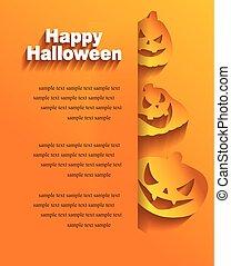 halloween, klistermärken, bakgrund