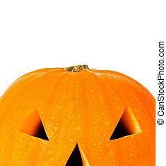 Halloween lantern with copyspace - Halloween lantern...