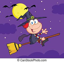 Halloween Little Witch