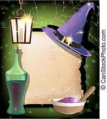 Halloween magic accessories