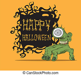 Halloween monster