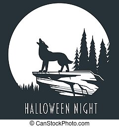 Halloween night concept 01