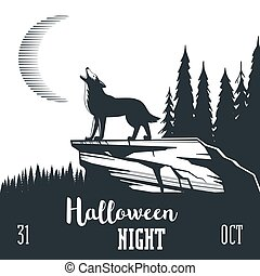 Halloween night concept 02
