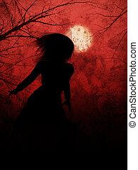 Halloween Night Girl