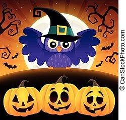 Halloween owl topic image 2