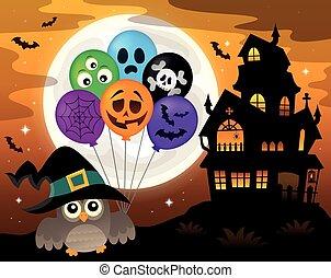Halloween owl topic image 3
