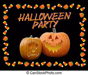halloween partij, uitnodiging