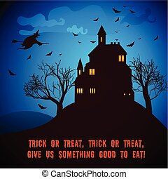 Halloween Party Night Poster