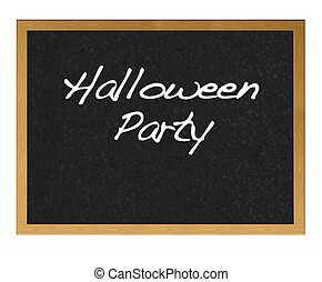 Halloween party.