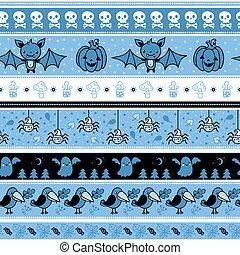 halloween, pattern., seamless
