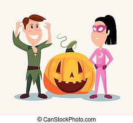 halloween people customes