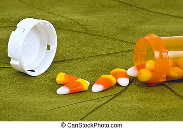 Halloween pills.