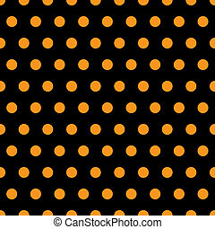 Halloween Polka Dots - A background pattern of polka dots ...