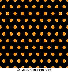 Halloween Polka Dots - A background pattern of polka dots ...