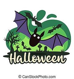 Halloween premade composition