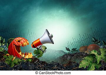 Halloween Promotion Background - Halloween promotion ...