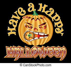 Halloween Pump Happy