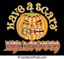 Halloween Pump Scary