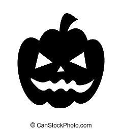 halloween pumpkin card icon