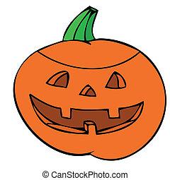 Halloween pumpkin.