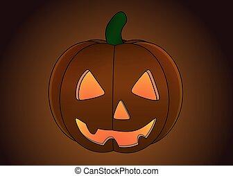 Halloween Pumpkin isolated