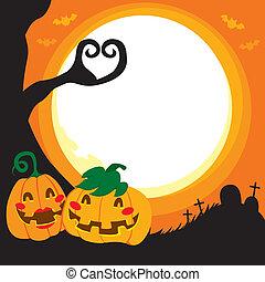 Halloween Pumpkin Love