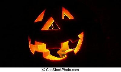 Halloween pumpkin, october monster - Halloween pumpkin...