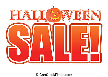 Halloween pumpkin sale sign