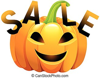 Halloween pumpkin sale