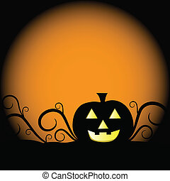 Halloween Pumpkin - Scary Halloween pumpkin